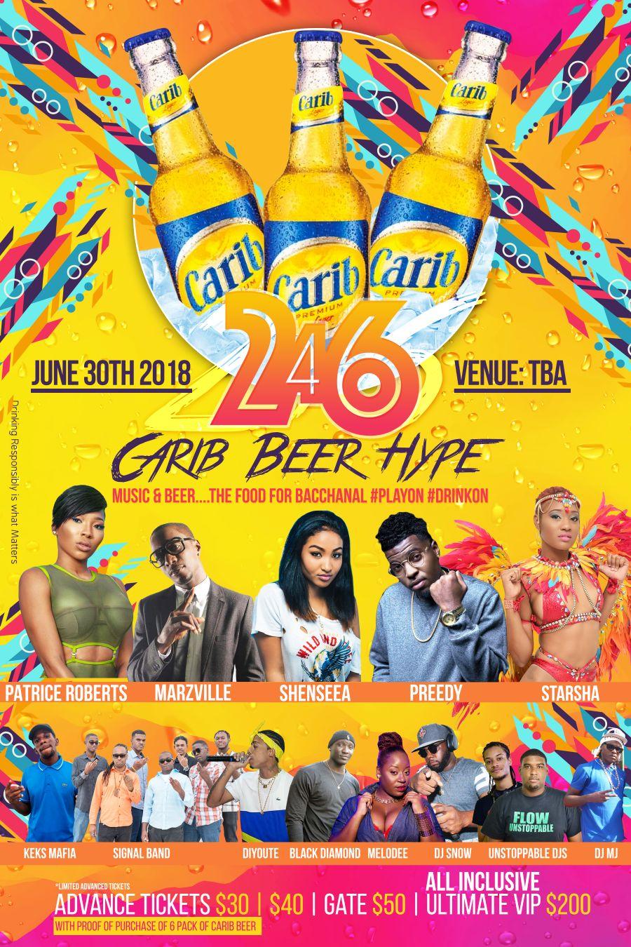 Carib Beer Hyper Flyer