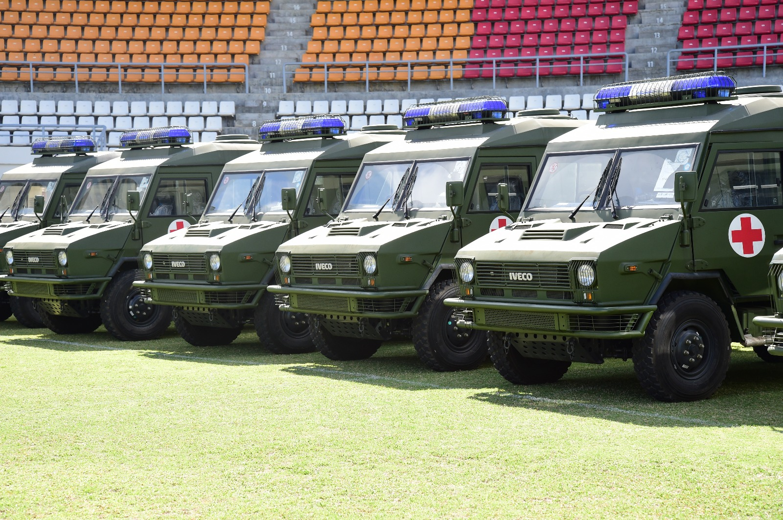Chinese Government Donates 19 Military Vehicles And Accessories To The Government Of Dominica Kairi Fm
